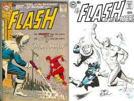 Flash #114 - Dave Bullock - One Minute Later Comic Art
